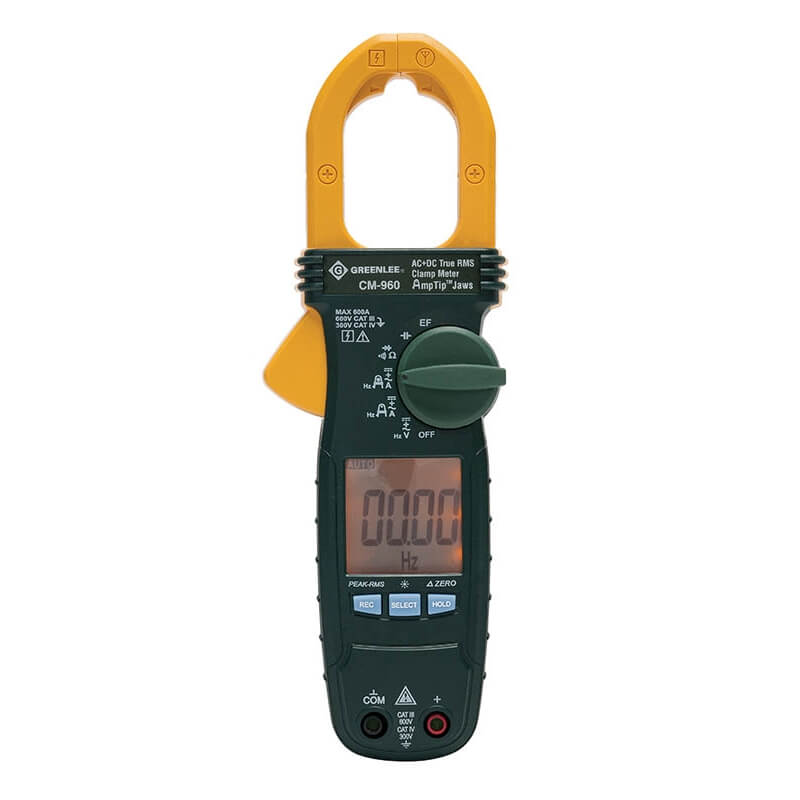 Greenlee CM-960 Portable AC/DC Clamp Meter