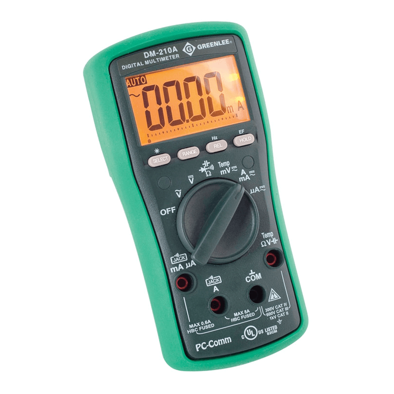Greenlee DM 210A Digital Multimeter