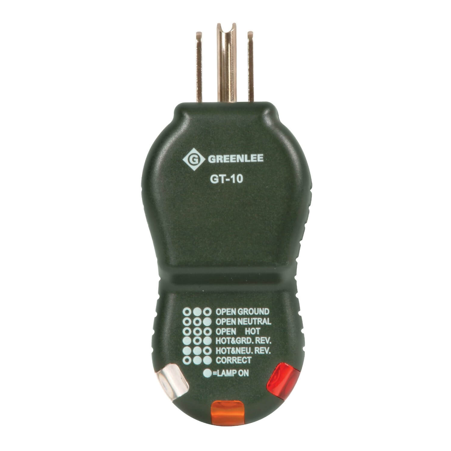 Greenlee GT-10 Polarity Cube Receptacle Tester