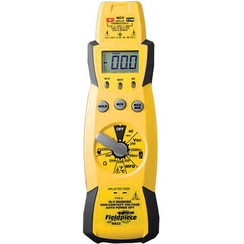 Fieldpiece HS33 HVAC Expandable Stick Multimeter [Free 2nd Day Shipping]