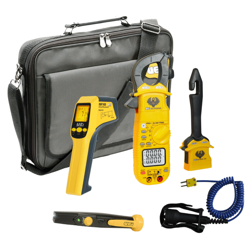 UEi HVACKIT Pro RMS Kit and Clamp Meter