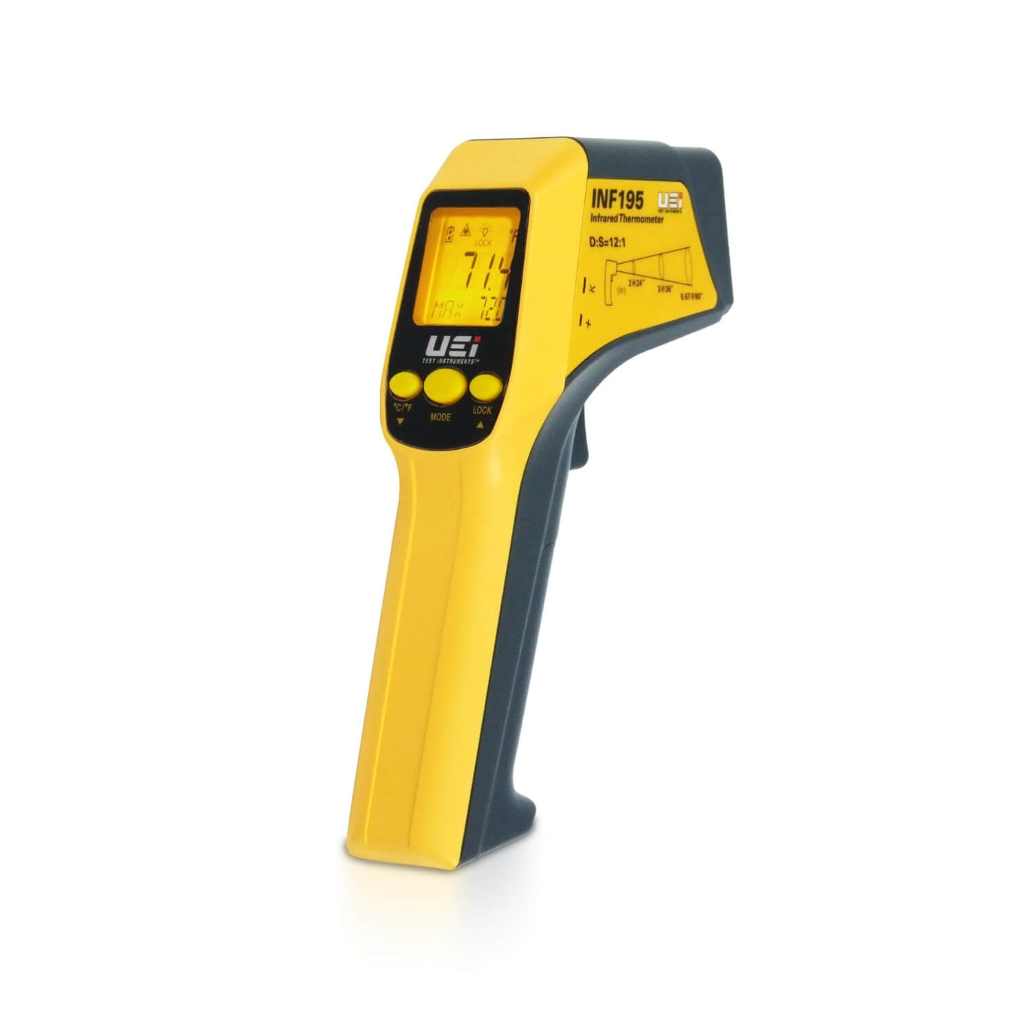 UEi INF195 IR Laser Thermometer