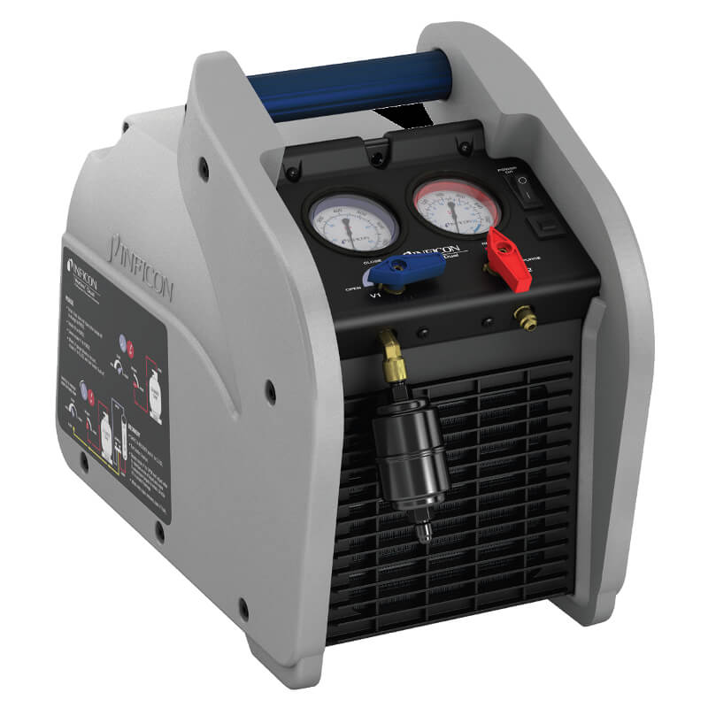 Inficon Vortex Dual AC Refrigerant Recovery Machine 714-202-G1