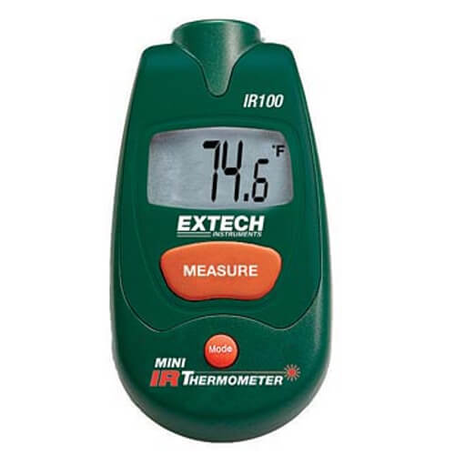Extech IR100 Infrared Non-Contact Thermometer Pocket Size