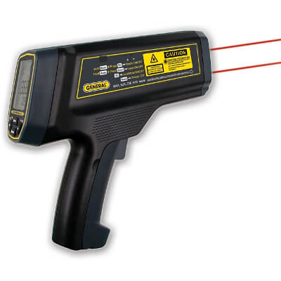 General Tools IRT5000 IR Dual Laser Thermometer for High Temperature