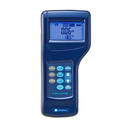 Kanomax 6035-AG Anemomaster Digital Anemometer with Analog Output