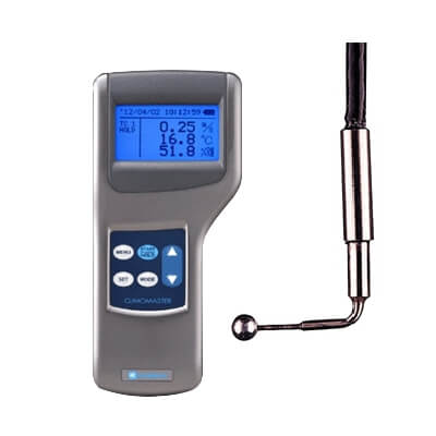 Kanomax S-6552-0E Climomaster Digital Anemometer and 6552-2G Probe