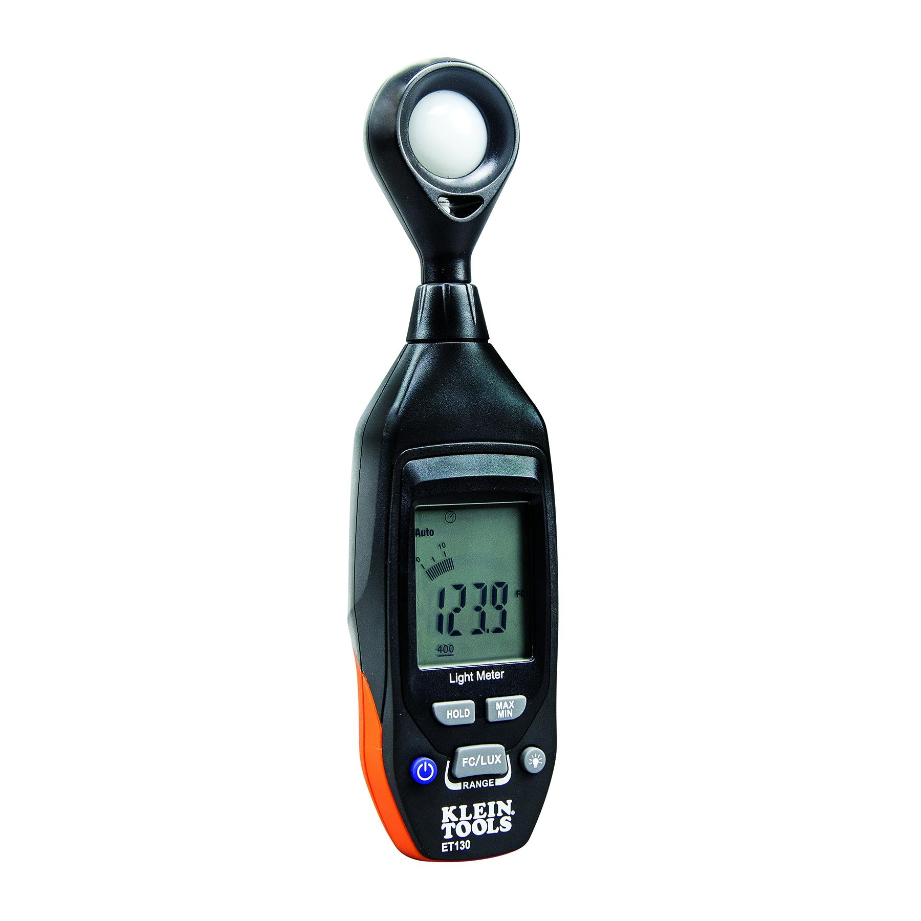 Klein Tools ET130 Digital Light Meter 4000 FC