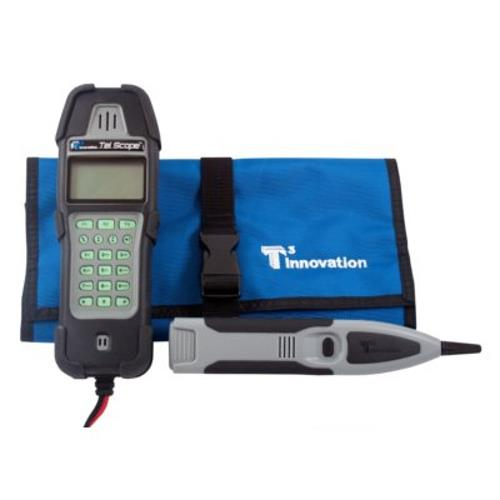 T3 Innovation KP400-T3-1 Deluxe Tel Scope Phone Line Test and Trace Set