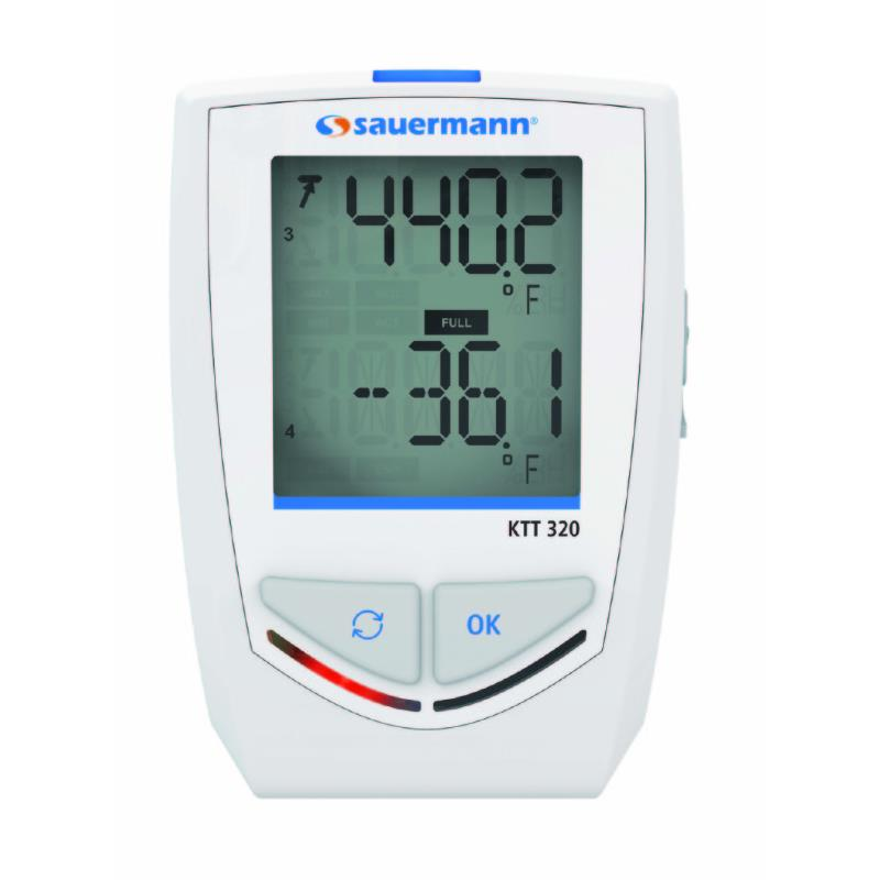 Sauermann KTT320 Thermocouple Temperature Datalogger with Bluetooth