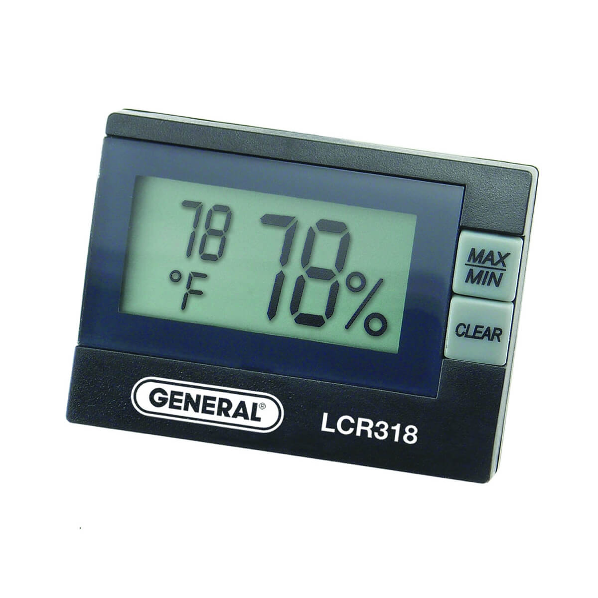 General Tools LCR318 Digital Relative Humidity and Temperature Meter