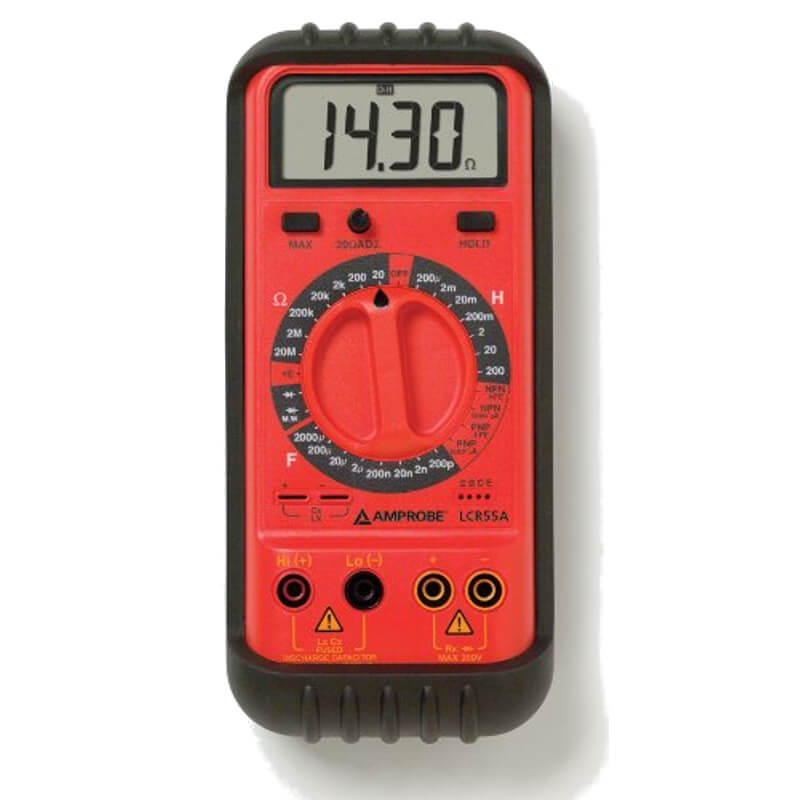 Amprobe LCR55A LCR Meter with Transistor Testing
