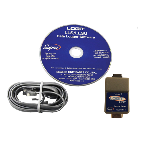 Supco LLS LOGiT Serial Interface and Software