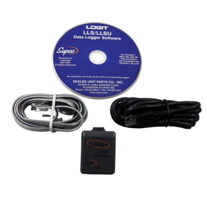 Supco LLSU LOGiT USB Interface and Software