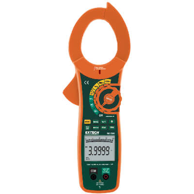 Extech MA1500 1500A TRMS AC DC Clamp Multimeter with Voltage Detector