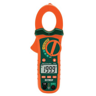 Extech MA430T 400A AC TRMS Clamp Multimeter with Voltage Detector