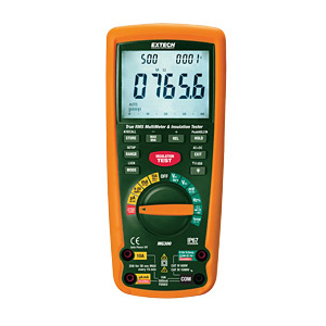 Extech MG300 CAT IV Megohmmeter and MultiMeter with PC Interface