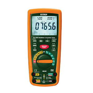 Extech MG302 CAT IV Megohmmeter and MultiMeter with PC Interface