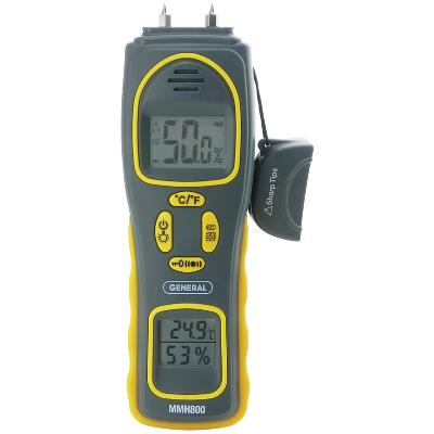 General Tools MMH800 Moisture Meter 4-in-1
