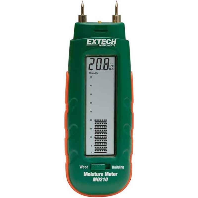 Extech MO210 Moisture Meter for Building Materials