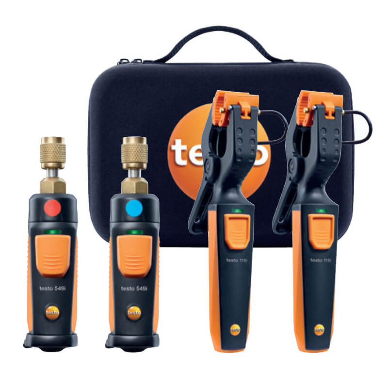 Testo 0563-0002 AC/R Wireless Smart Probe Kit - Bluetooth Manifold