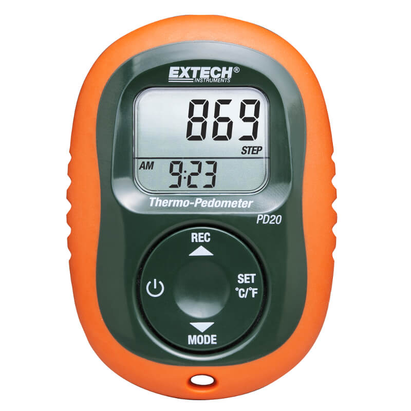 Extech PD20 Pocket Thermo-Pedometer