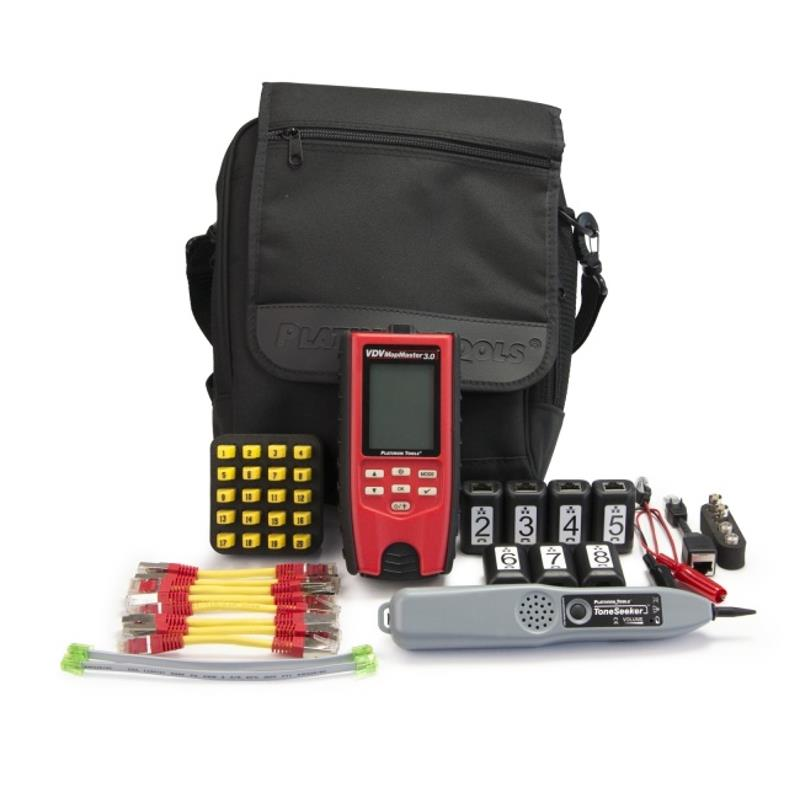 Platinum Tools T130K3 VDV MapMaster 3.0 Cable Tester Deluxe PRO Kit