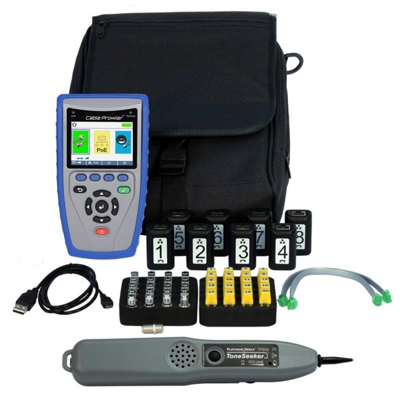 Platinum Tools TCB400 Cable Prowler Network Cable Tester Kit