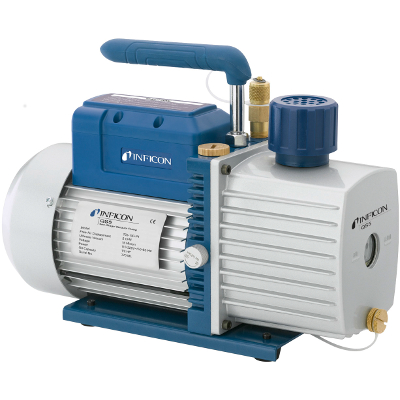 Inficon QS5 Two Stage Vacuum Pump 5 CFM