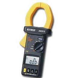 Extech 382075 Clamp-on 2000A TRMS 3-Phase Power Analyzer