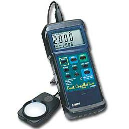 Extech 407026 Handheld Light Meter PC Enabled