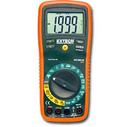 Extech EX410 Manual Ranging Multimeter