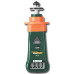 Extech 461750 PocketTach Miniature Contact Tachometer
