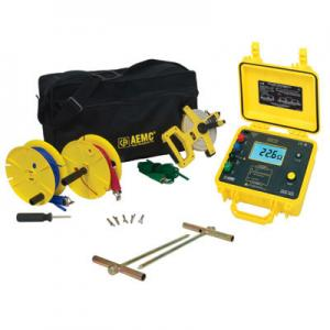 AEMC 4630-150 4-Point Digital Ground Resistance Meter Kit