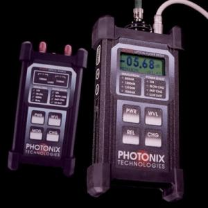Photonix PX-D430 Datarecording Meter and 1310-1550 Laser Source Premium Grade Fiber Optic Test Kit