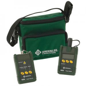 Greenlee 5680-ST SM Fiber Cable Tester with ST Connector