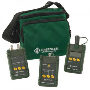 Greenlee 5890-FC Multimode Singlemode Fiber Optic Test Set FC Interface