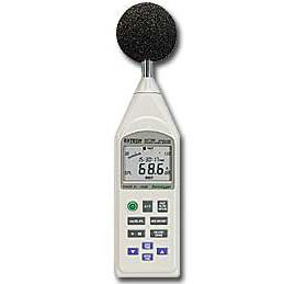 Extech 407780A-NIST Integrating Sound Level Meter with Datalogging
