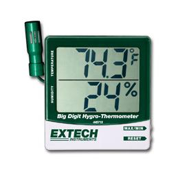 Extech 445715-NIST Digital Hygro Thermometer with Remote Probe