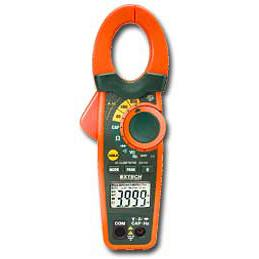 Extech EX710-NIST 800A Digital Clamp Meter with IR Thermometer