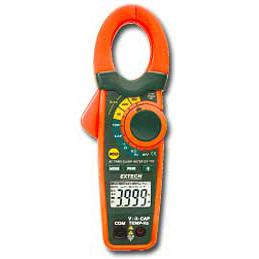 Extech EX720-NIST 800A Digital Clamp Meter with IR Thermometer