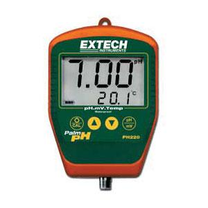 Extech PH220-S Digital Handheld pH Meter with Stick Electrode