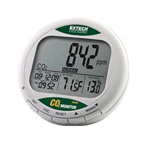 Extech CO200 Desktop Air Quality CO2 Monitor with Digital Display