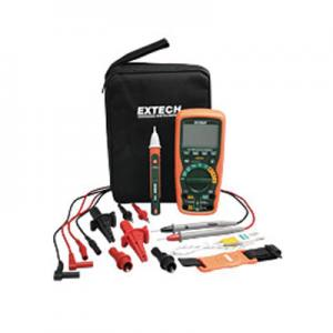 Extech EX505-K TRMS Heavy Duty Digital Industrial Multimeter Kit