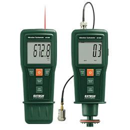 Extech 461880 Combo Vibration Meter and Laser Tachometer