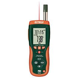 Extech HD550 Psychrometer IR Temperature and Humidity Meter