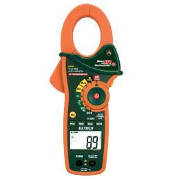 Extech EX840 TRMS Digital AC DC Clamp Meter with IR Thermometer