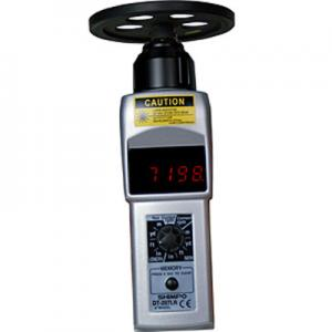 Shimpo DT-207LR-S12 Handheld Tachometer with Wheel