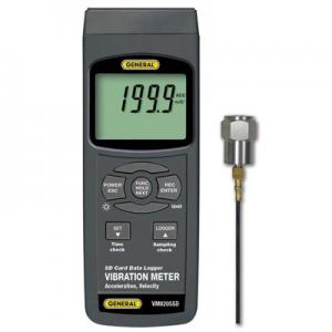 General Tools VM8205SD Digital Datalogging Vibration Meter
