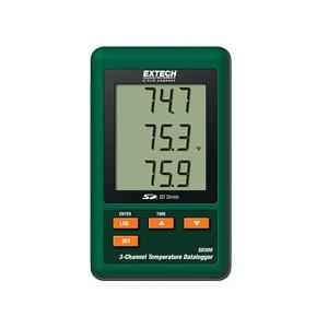 Extech SD200 3 Channel Datalogger for Temperature